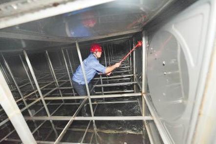 威海二次水箱清理
